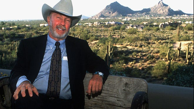 Former Scottsdale Mayor Herb Drinkwater was one of the politicians who influenced Paul Messinger when both served as city councilmen.
