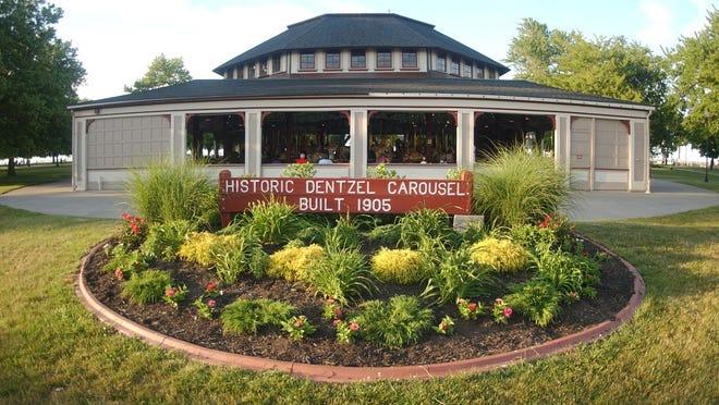 The Dentzel Carousel at Ontario Beach Park.