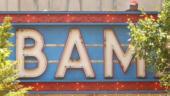 The Bama Theatre is at 600 Greensboro Ave. in downtown Tuscaloosa.