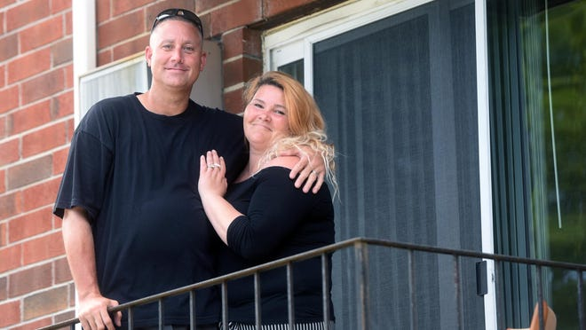 Mike McCants and Shannon Bettyrose Peters will be married in August and their journey has taken them from being homeless to just signing a year's lease in a Dover apartment with the help of many organizations.