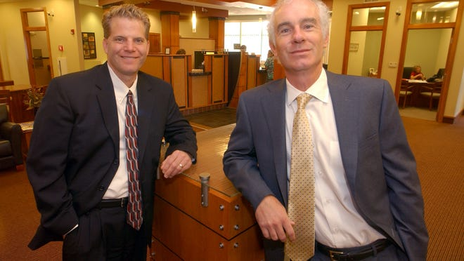 Mark Kross, left, and Gerard Nalezny