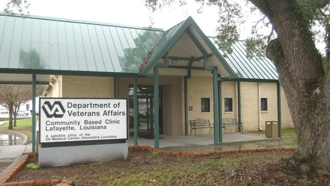 Department of Veteran's Affairs Clinic in Lafayette.