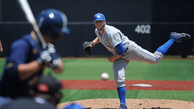 Kentucky's A.J. Reed is a multitasking marvel, starring as a pitcher and at the plate.
