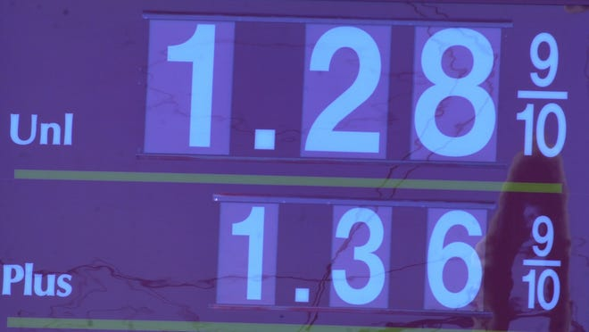 New Jerseyans objected to raising the gas tax even when prices were this low. File photo.