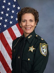 Connie Shingledecker, a retired major with the Manatee County Sheriff's Office