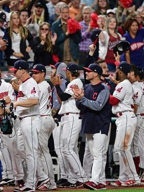 The Cleveland Indians' winning streak ended at 22 with