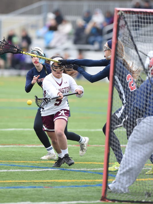 Arlington girls lacrosse vs Wappingers.