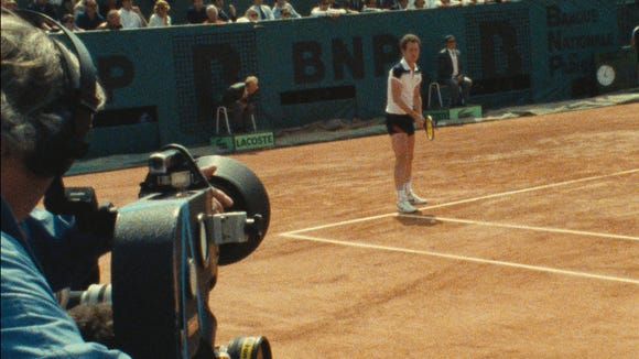 Frantic (and inspired) film captures the volatility of John McEnroe