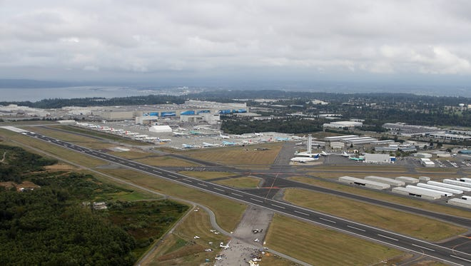 A September 2010 file photo of Paine Field in Everett, Wash.