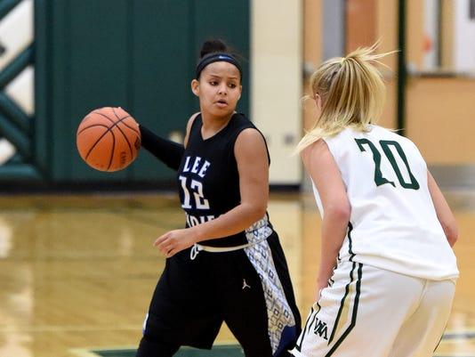R.E. Lee at Wilson Memorial girls' basketball