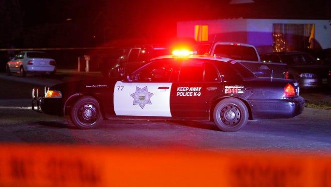 FILE: Salinas Police at shooting.