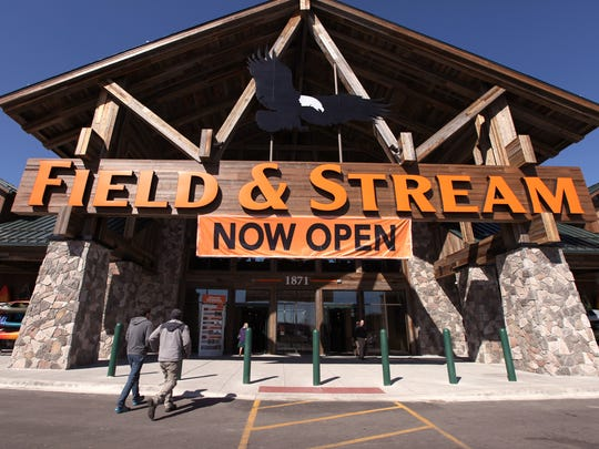 Shoppers are flocking to the newly opened Field & Stream store at the Oakland Mall in Troy.
