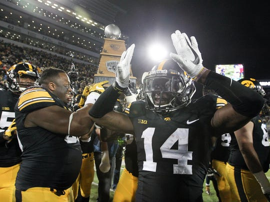 Desmond King was a legendary Hawkeye in his four-year career (2013 to 2016).