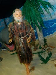 Jonah and the whale scene are featured at BibleWalk, a wax museum in Mansfield, Ohio.