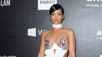 Rihanna rocked the red carpet at Wednesday's amfAR LA Inspiration Gala at Milk Studios in Hollywood. The red carpet  turned into a competition for head-turning outfits. USA TODAY's Ann Oldenburg invites you to check them all out.