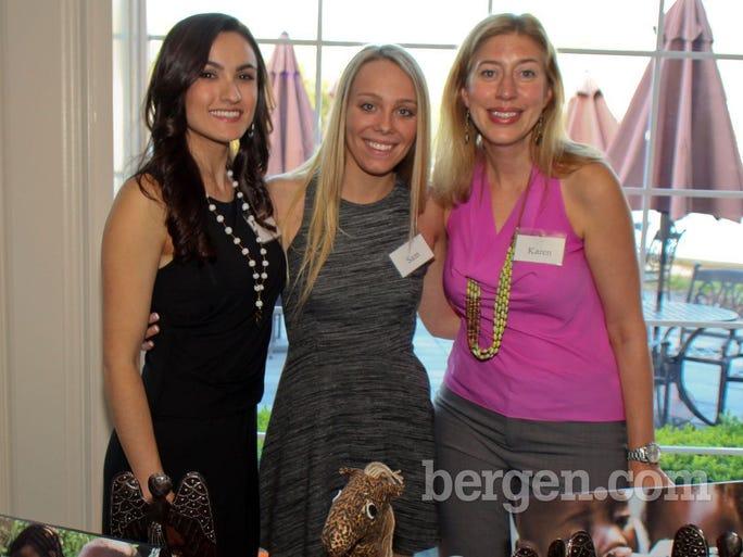 Samantha Amerman, Sam Kauffman, Karen Bohrer (Photo by Paula Barbagallo)