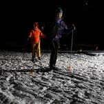 Candlelight ski and snowshoe events are a highlight of a Wisconsin winter