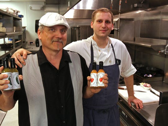 With dad John Kasper handling sales and son Jonathan Kasper, a chef at Fiddler's Elbow Country Club in Bedminster, developing the recipes, Whitehouse Station Sauce Company is a true father-and-son operation.