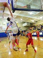 Seth Hohman led Clyde in rebounding and was second in scoring, assists and steals as a senior.