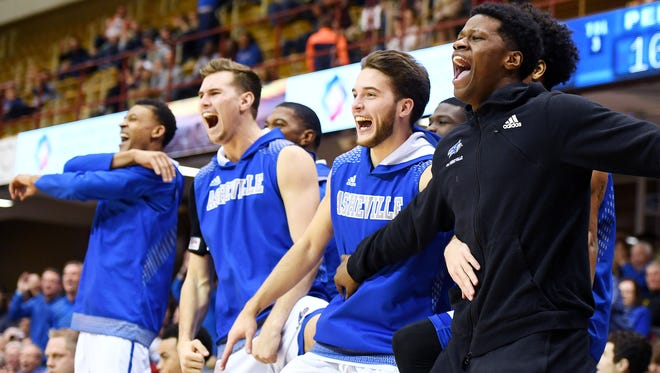 Big South rivals UNC Asheville and Winthrop meet Thursday in a game to be televised nationally on ESPNU
