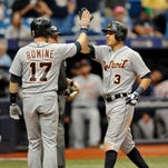 Tigers' Kinsler smacks 200th homer to join elite club