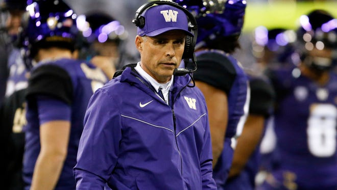 Washington Huskies head coach Chris Petersen and his squad suffered their first loss of the season this week against Arizona State.