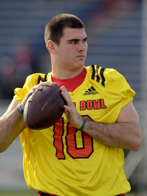 Chad Kelly will not participate at the combine but may appear in Indianapolis.