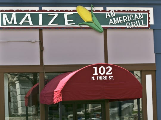 By John Terhune/Journal & Courier--(Wednesday, April 22, 2009) Maize an American Grill has new owners and a change of menu coming in May.