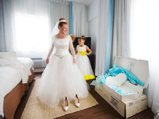 A wedding dress, a marriage, and the love of a father and daughter.