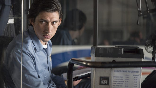 """In """"Paterson,"""" Adam Driver plays a bus driver who also writes poetry."""