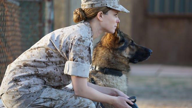 "Kate Mara plays the title character in ""Megan Leavey."""