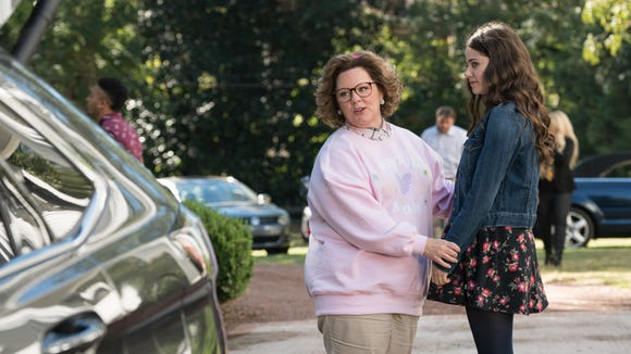"Melissa McCarthy as Deanna and Molly Gordon as Maddie in ""Life of the Party."""