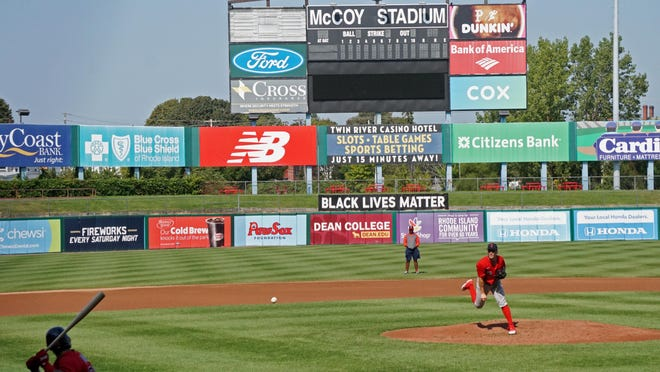 Friday's practice was the last one for the Pawtucket Red Sox at McCoy Stadium. Next season the Triple-A team will be playing at brand-new Polar Park in Worcester.