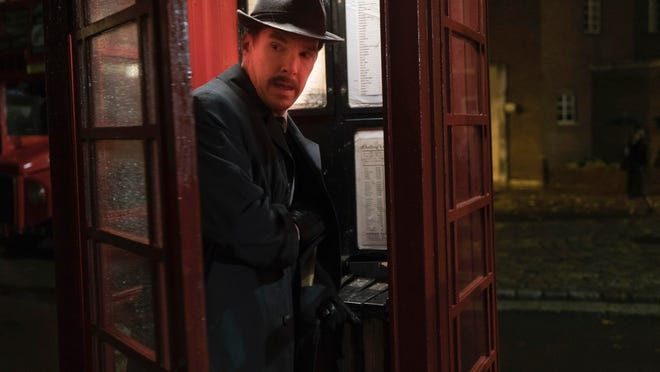 """Benedict Cumberbatch in a scene from """"The Courier."""""""