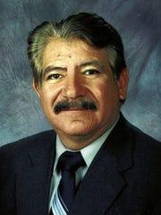 Treasurer David Gutierrez is shown in this undated