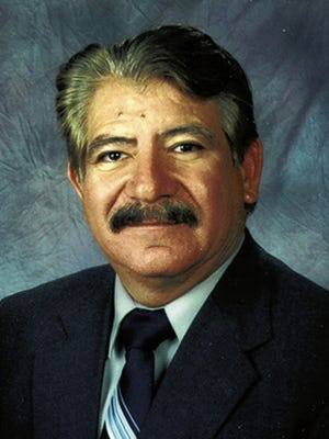 Treasurer David Gutierrez is shown in this undated photgraph.