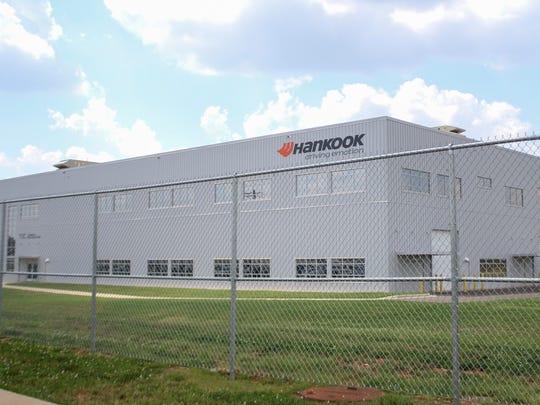 The Clarksville Hankook site's Tennessee Training Center