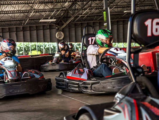 The racetrack at Octane Raceway.
