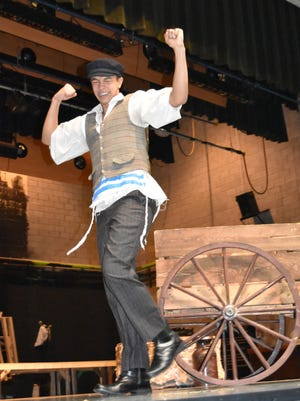 """Noah Canales as Tevya in Novi High School's production of """"Fiddler on the Roof,"""" which opens Thursday at the high school auditorium, 24062 Taft. Performances are at 7:30 p.m. April 27-29. Tickets are $14 for adults and $12 for senior citizens and students. For more information, go to performingartsresources.org."""