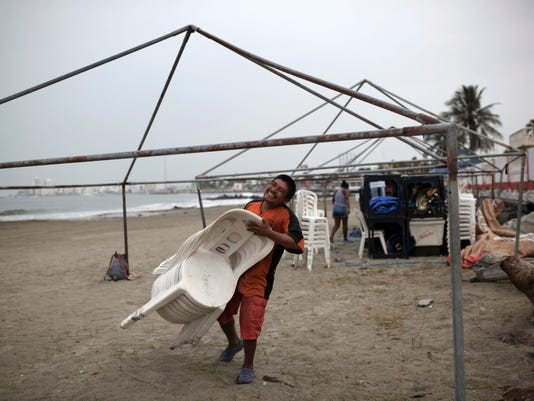 AP MEXICO TROPICAL WEATHER I MEX