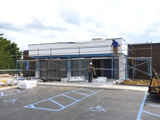 The former Maysville Middle School is being transformed