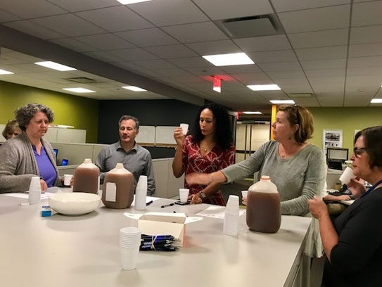 The Journal News hosted a blind taste test of local