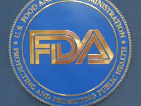Undated file image shows the seal of the U.S. Food and Drug Administration