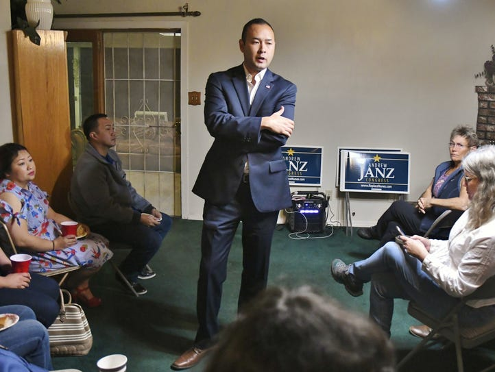 Andrew Janz is running for California's District 22