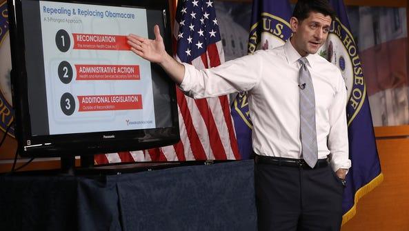 Speaker of the House Paul Ryan (R-Wisc.) explains the