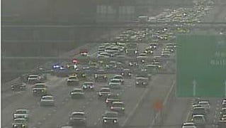 The two rights lanes of I-95 northbound are closed north of the Del. 7 exit, DelDOT says.