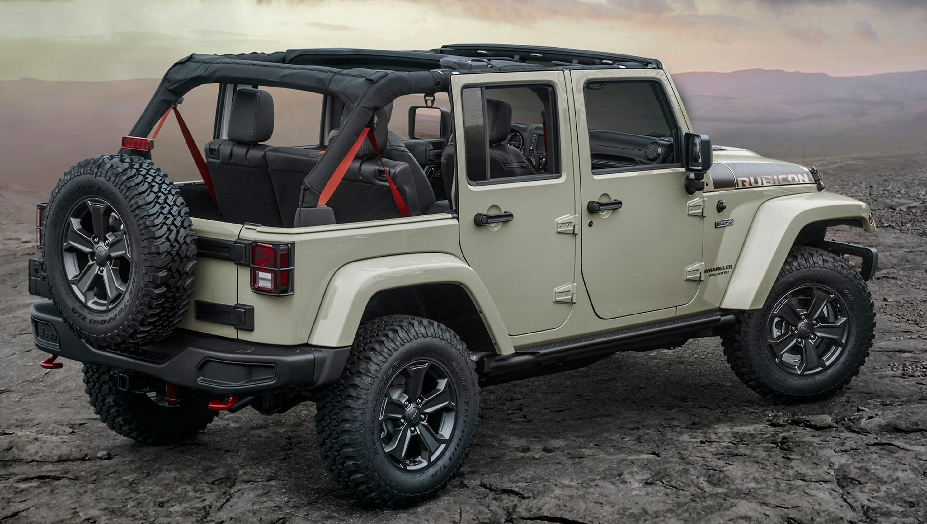 Jeep Wrangler Rubicon Recon Edition Gets A Makeover