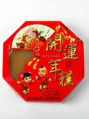 Chinese New Year items.