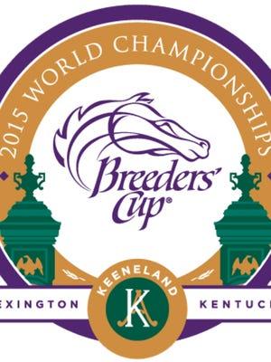 2015 Keeneland Breeders' Cup logo.