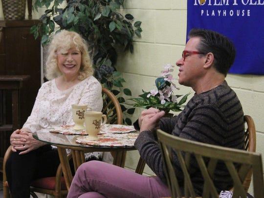 "Loretta Swit and David Engel star in ""Six Dance Lessons"